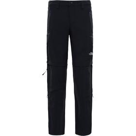 The North Face Exploration Pantalones convertibles Hombre, negro